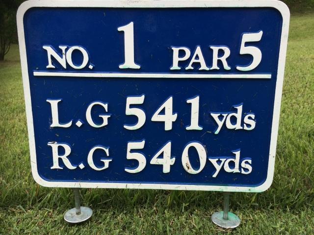【ゴルフ教えて!】ゴルフコースのヤード表示はどう使うの?