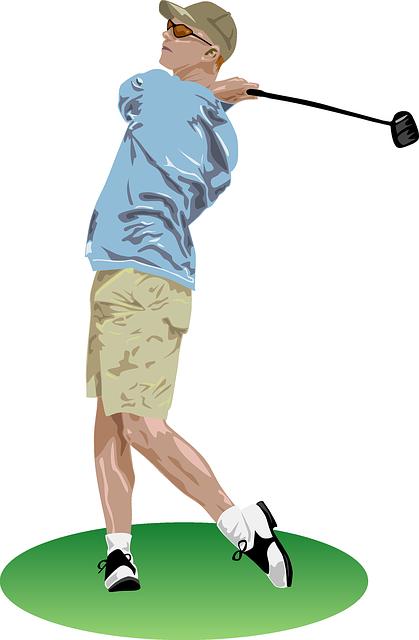 ゴルフのフィニッシュでは左足がめくれるのが正解なのか?