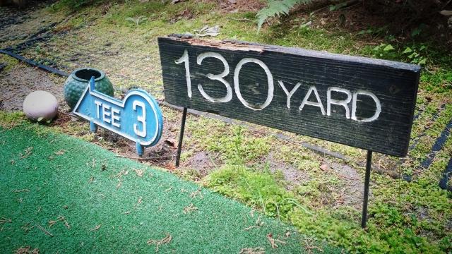 ゴルフ場によってヤード表示がどこまでかは違っています!