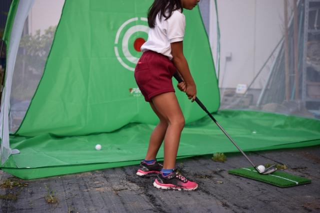 庭に設置してみよう!ゴルフ練習用ネットと練習用ボール