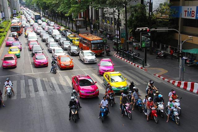 タイ・バンコクではゴルフ場までタクシーの移動が安い