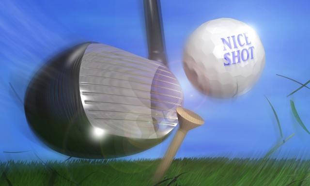 ★ゴルフ上達★ヘッドを加速させるにはインパクトで止める