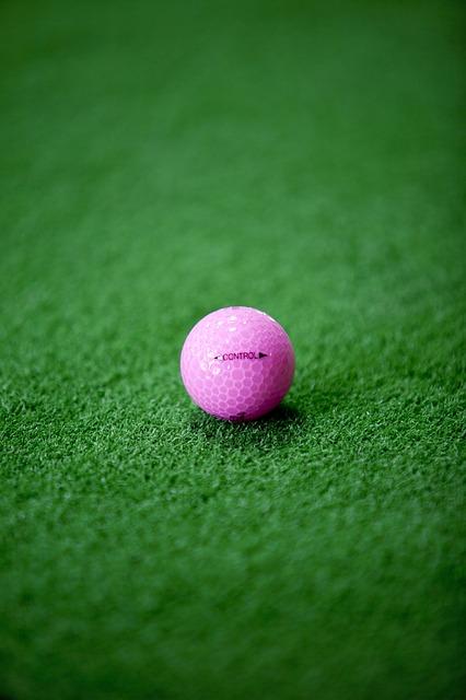 ゴルフボールに女性用があるが一体違いは何?使用対象は?