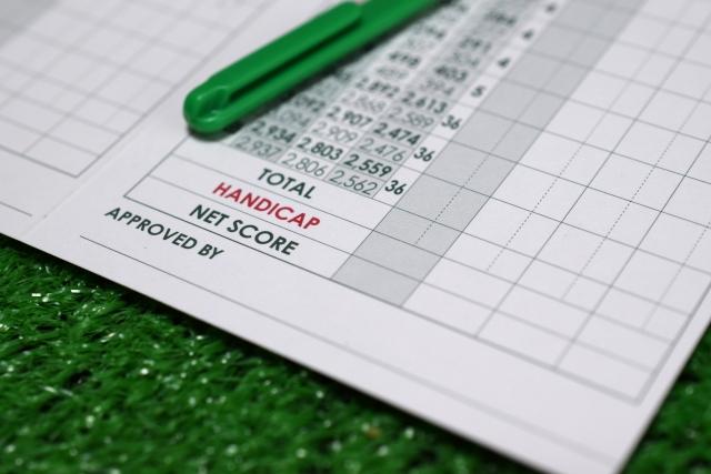 ゴルフのスコアカードの書き方を覚えて初ラウンドに備えよう