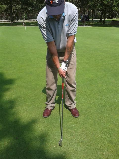 ゴルフスイングの不安はアドレスに入る順番を決めて解消