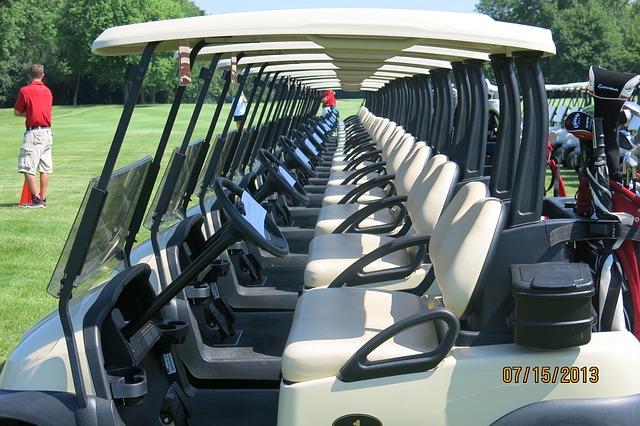ゴルフカートを扱うメーカーのシェア率が偏ってる要因とは